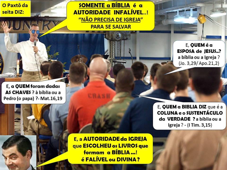 Conheça A Origem Da Falsa Doutrina Da Sola Scriptura Católicos Na